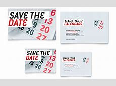 Save The Date Note Card Template Word & Publisher