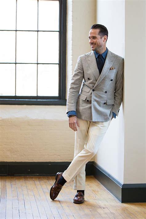 Cream pants for men - Pi Pants