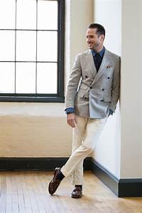 How To Wear Cream Pants - He Spoke Style