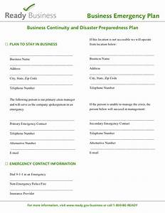 readygov sample disaster planning template With emergency preparedness and response plan template