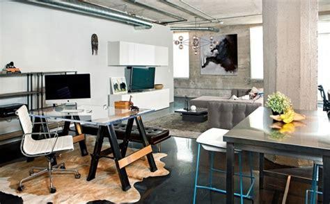 le de bureau style industriel bureau maison de style industriel et moderne