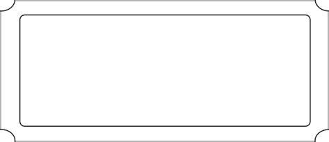 blank carnival ticket clip art  clkercom vector clip
