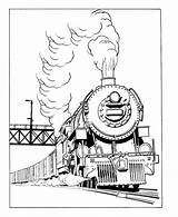 Train Transportation Locomotive Coloring Pages Printable Drawings Drawing Kb sketch template