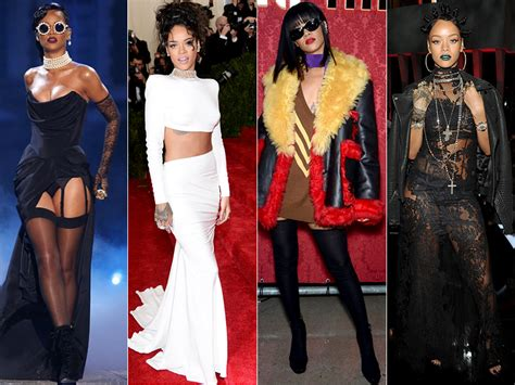Rihanna 7 Iconic Style Moments from the Star