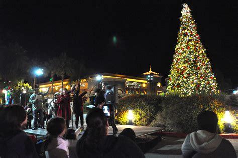 tree lighting  otay ranch town center
