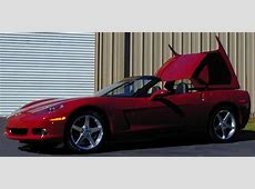 2005 CHEVROLET CORVETTE C6 RETRACTABLE HARDTOP