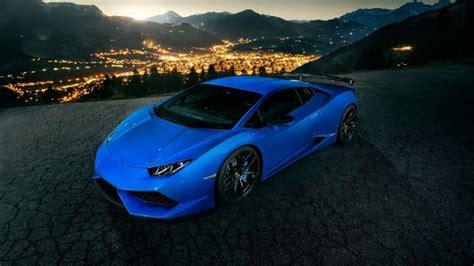 Blue Lamborghini Huracan Hd Wallpaper