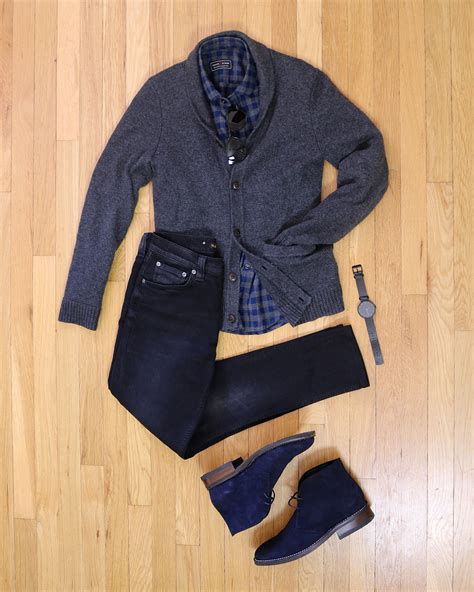 Outfit Inspiration How Wear Desert Boots With Jeans