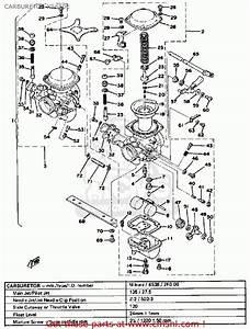 Yamaha Xs650 1978 Usa Carburetor Xs650e