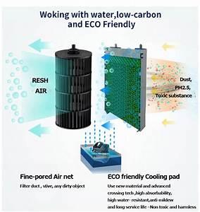 Moving Quiet Outdoor Portable Refrigerated Air Conditioner