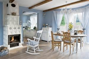 country homes interior design blue and white country home in poland interior design files