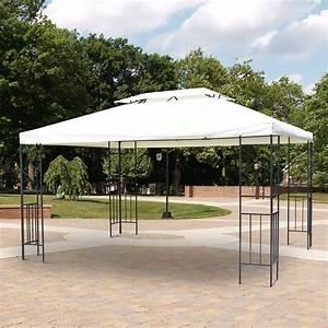 Gartenpavillon Metall 3x4 : outsunny metall gartenpavillon bierzelt 3x4 m creme ~ A.2002-acura-tl-radio.info Haus und Dekorationen
