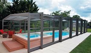 Abri Haut Piscine : abri de piscine abrisud achat conseils et devis chez ~ Premium-room.com Idées de Décoration