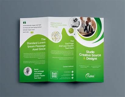 Brochure Fold Tri Template Professional Hypnosis Company