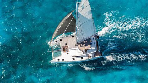 bunk beds with desk aurous catamaran luxury sailing holidays