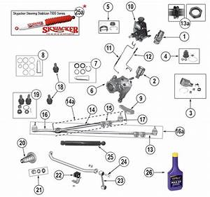 Steering Parts  U0026 Accessories For Cherokee Sj