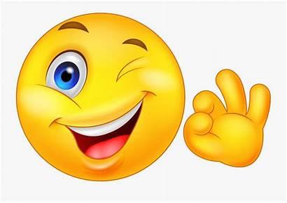 Emoji Wink Shhh Transparent Clipart Clipartkey