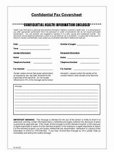 fax cover sheet template google docs and free hipaa With hipaa compliance document template
