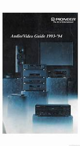 Pioneer Audio Video Guide - Product Catalogue