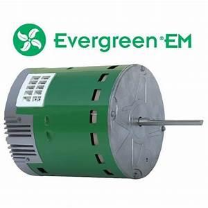 Ge  U2022 Genteq Evergreen 1  3 Hp 230 Volt Replacement X