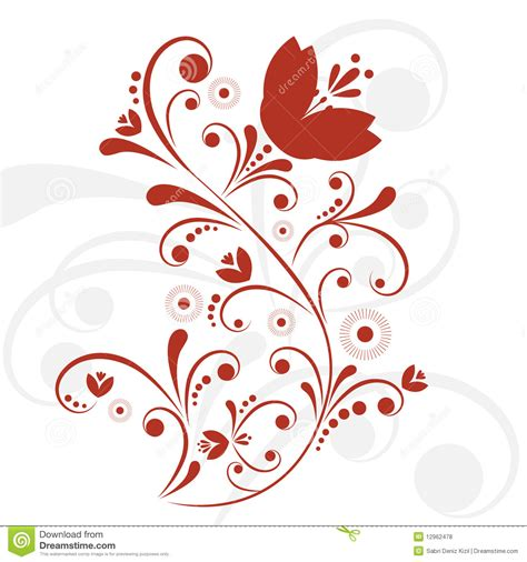 floral design vector royalty  stock  image