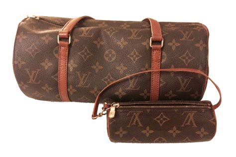 louis vuitton monogram canvas papillon  shoulder bag