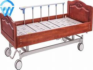 China Supplier Luxury Medical Adjustable Two Cranks Manual