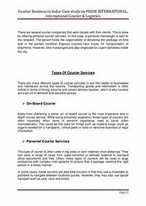 courier business in india copy With courier service proposal letter