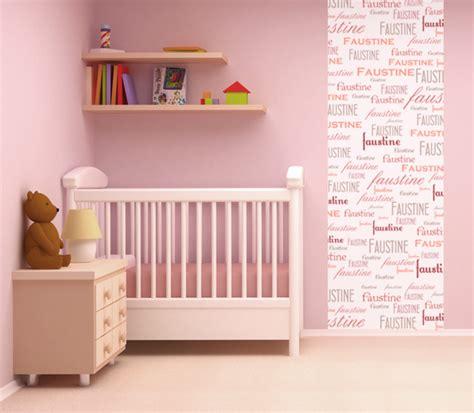 papier peint chambre bebe fille tendance papier peint chambre