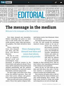 editorial paper example