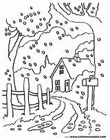 Coloring Road Country Dirt Pages Fall Scenes Drawing Scene Printable Print Getcolorings Fresh Getdrawings sketch template