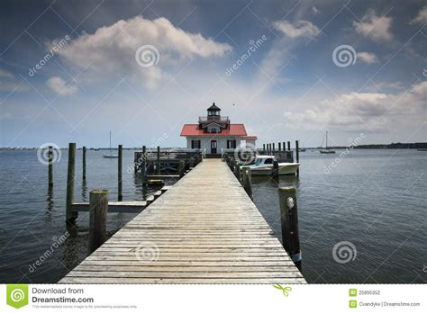 Boat Dealers In Outer Banks Nc by Roanoke Marshes Lighthouse Manteo Nc Stock Photo
