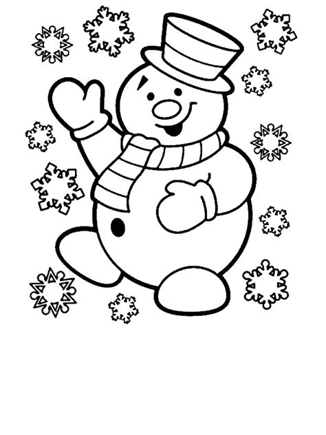 Merry Christmas Coloring Pages For 4 Year Olds. Merry
