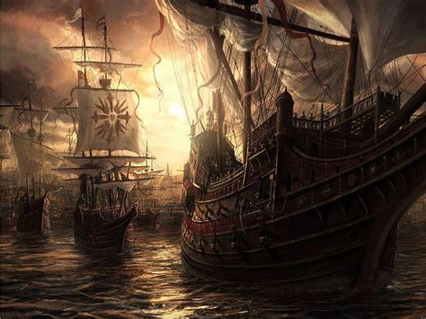 Barco Pirata Hd by Fonditos Barcos Piratas Fantasia Otros Magia