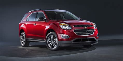 2016 Chevrolet Equinox Updated Suv Unveiled At 2015