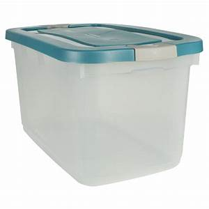 Shop Rubbermaid 31-Quart Plastic Storage Container at