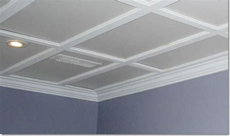 Gray Drop Ceiling Tiles by Basement Ceilings Rescon Basement Solutions Nh And Ma