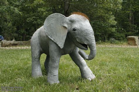 life sized gourd baby elephant  art fromthe heart