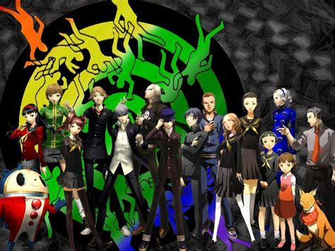 Persona 4 The Animation Wallpaper - persona 4 wallpapers wallpaper cave