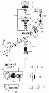 Sloan Hydraulic Flushometer
