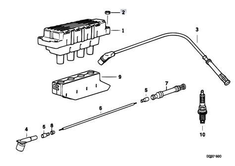original parts for e36 316i m43 sedan engine electrical system ignition coil spark