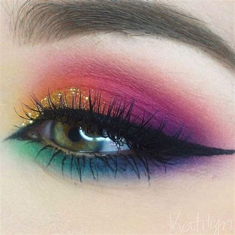 colorful makeup new trends of 2017 colorful eye makeup best products for