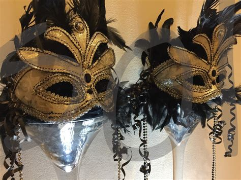 masquerade table decoration hire  lets party