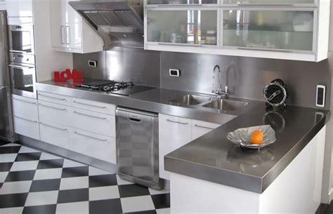 plan de travail cuisine inox sur mesure installer un plan de travail cuisine obasinc com
