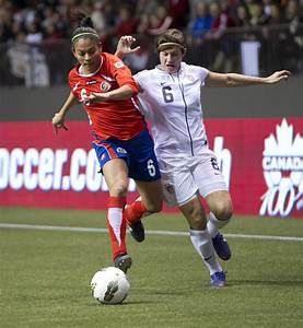Amy LePeilbet in 2012 CONCACAF Women's Olympic Qualifying ...