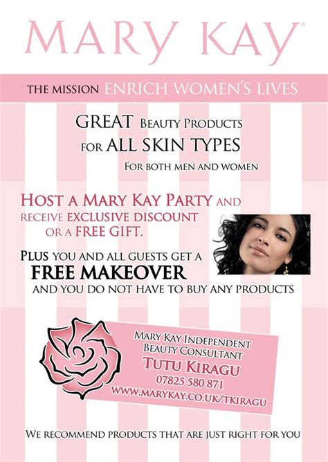 mary kay promotional flyers mary kay consultant start