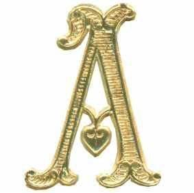 embossed foil dresden die cut trims rose mille With gold die cut letters