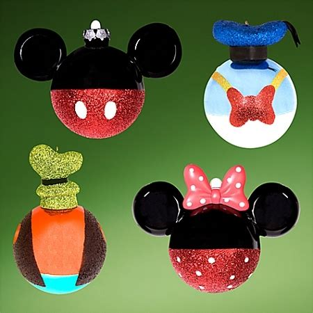 disney christmas ornament set best of mickey mickey