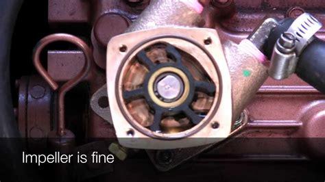 universal diesel raw water pump relacement youtube