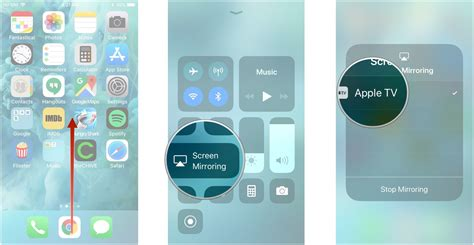 iphone airplay to mac how to airplay to apple tv on iphone and mac imore